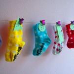 Advent calendar, socks, DIY / Adventkalender, sokken, zelf maken // VAN BRITT