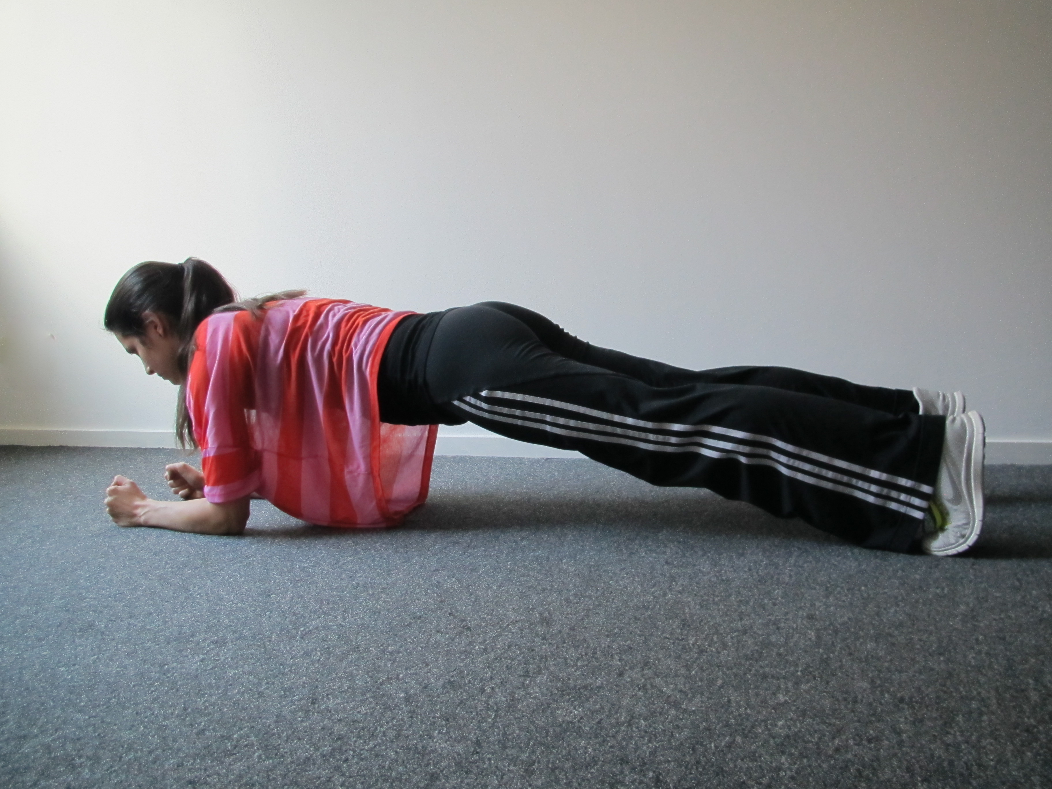 Core stability - Plank
