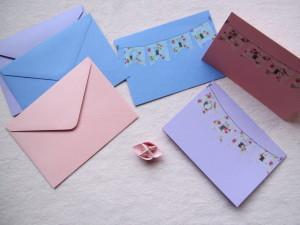 Monday Mail - geboortekaartjes