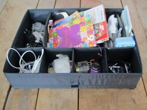 Tips voor een georganiseerd huishouden - Rommellade 1