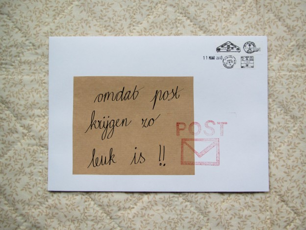 Mail on Monday (leuke post)
