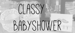 Classy babyshower