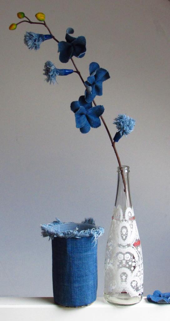 Denimflowers / Bloemen van spijkerstof // VAN BRITT