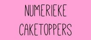 Numerieke caketoppers