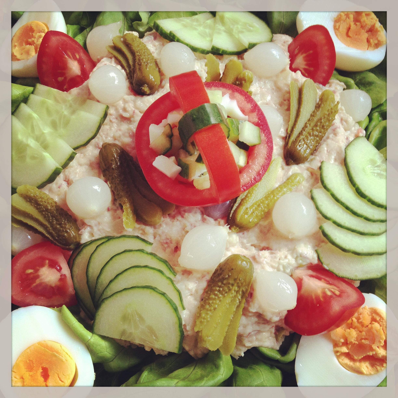 wat eet je op een warme dag