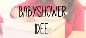Babyshower idee