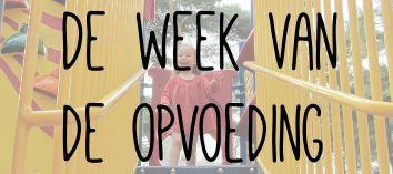 De week van de opvoeding