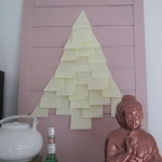 Advent calendar, post-it, DIY / Adventkalender, post-it, zelf maken // VAN BRITT