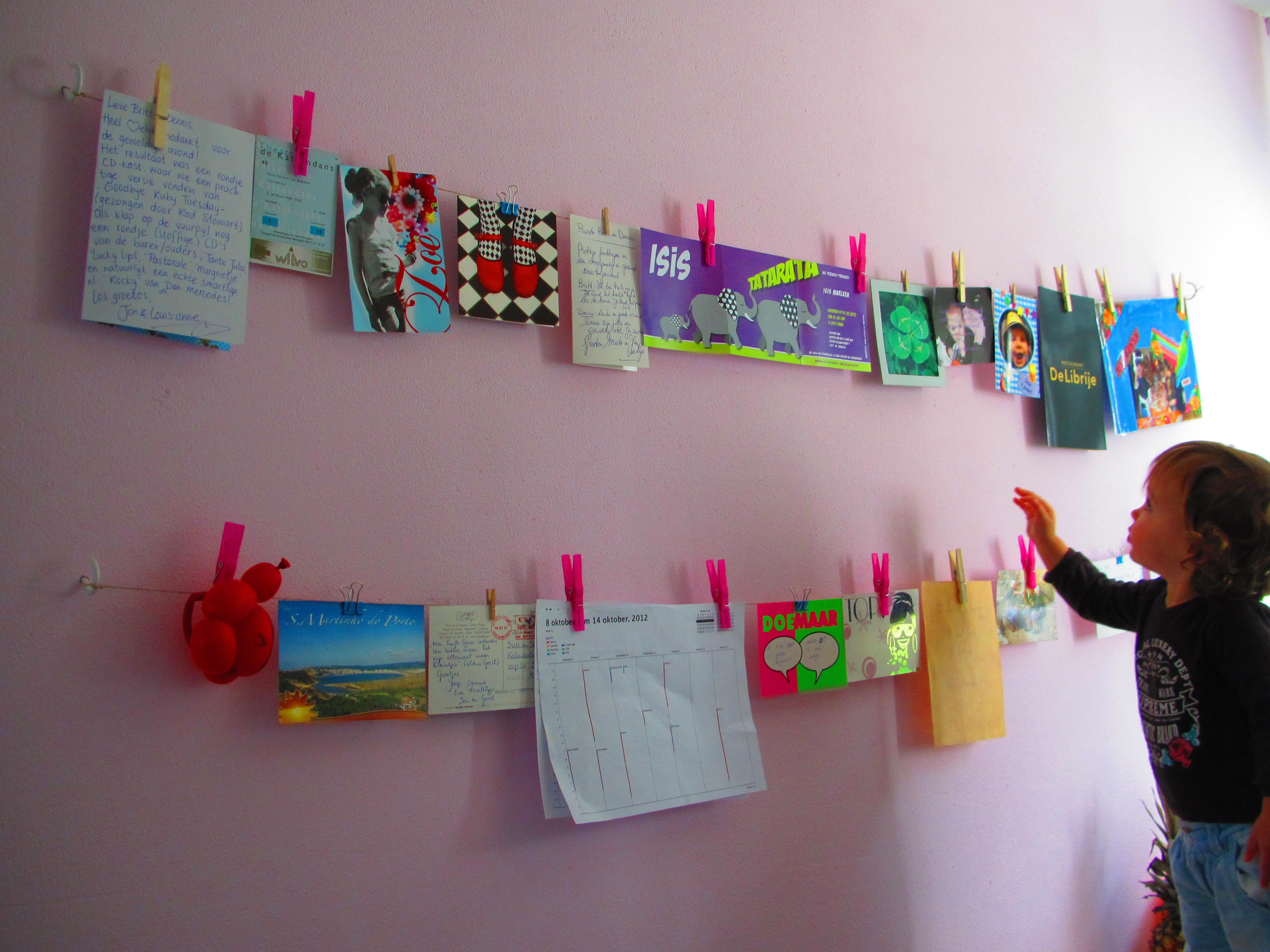 Wat doe je met al die tekeningen van je kind van britt - Tuinuitleg met kiezelstenen ...