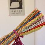 Advent calendar, paper, DIY / Adventkalender, papier, zelf maken // VAN BRITT