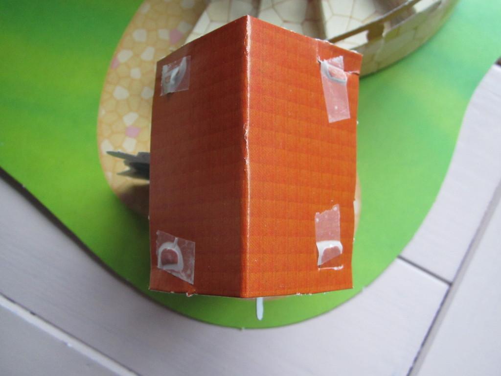 Papieren bouwpakketjes van de Action