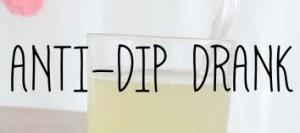 Anti-dip drank