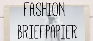 Fashion briefpapier