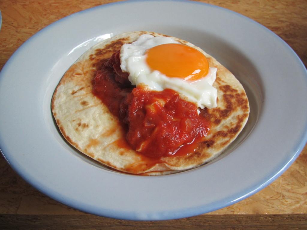 Huevos rancheros // VAN BRITT