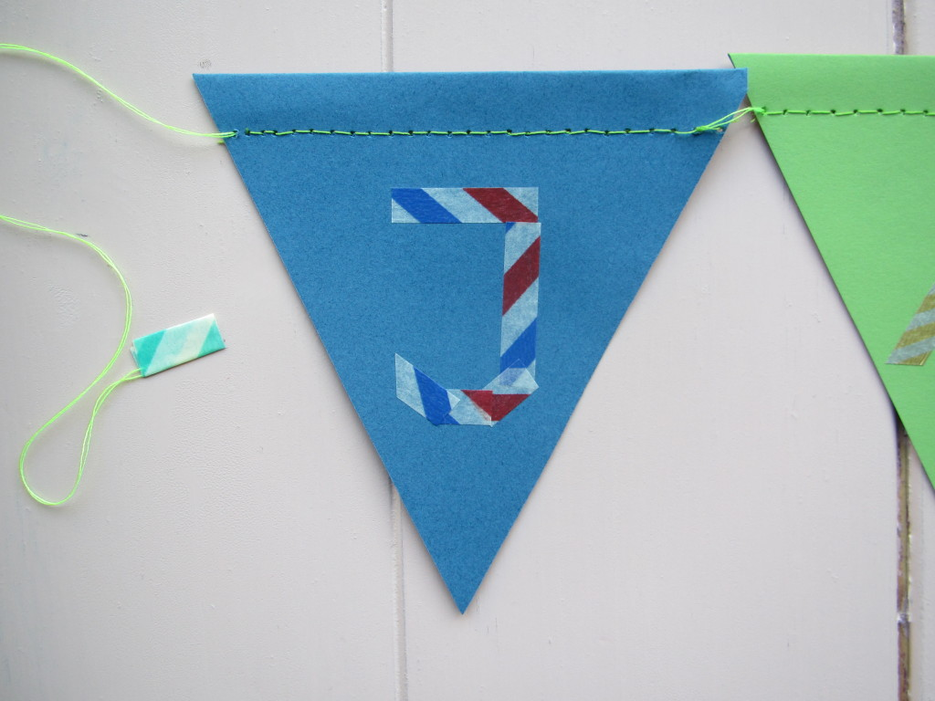 Kaartje + vlaggenlijntje JAXON