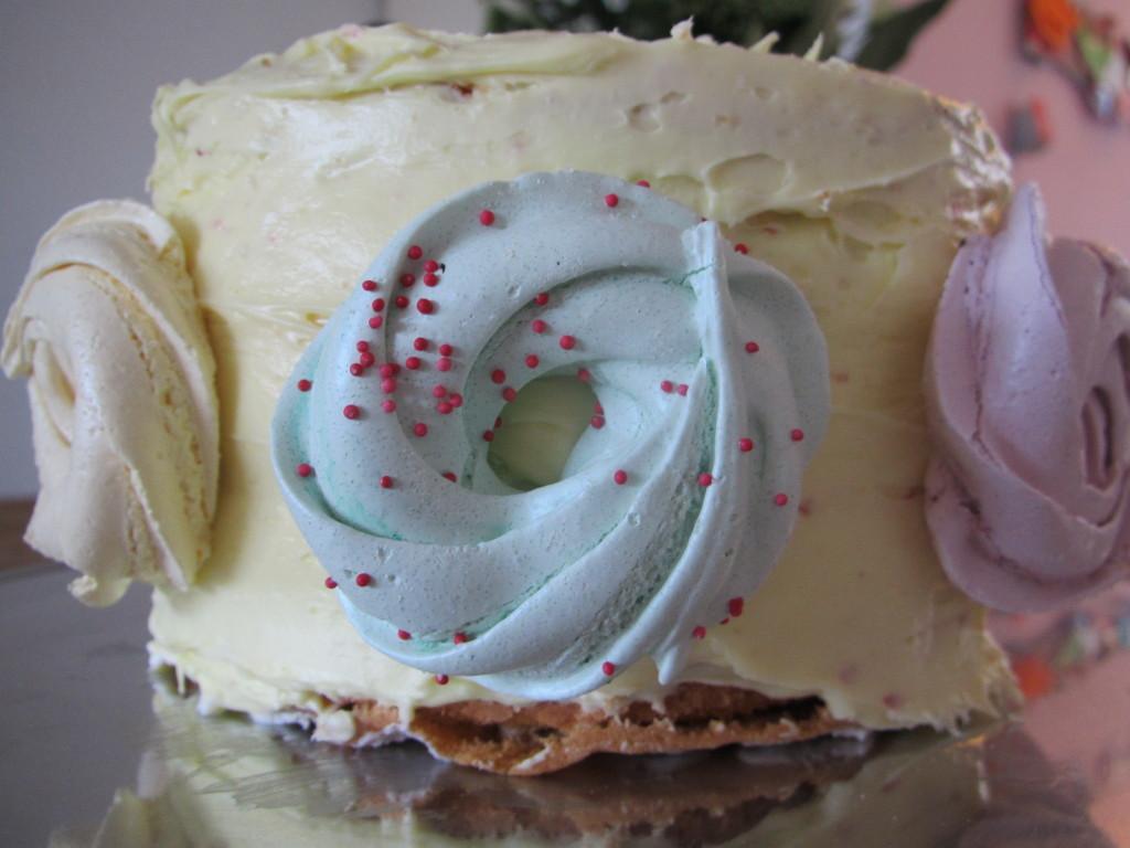 Framboos-citroen taart