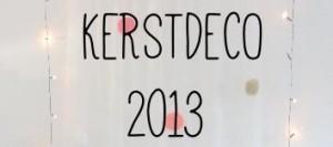 Kerstdeco 2013