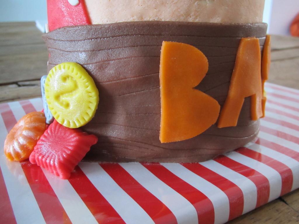 Pirate cake / Piratentaart voor Bas // VAN BRITT