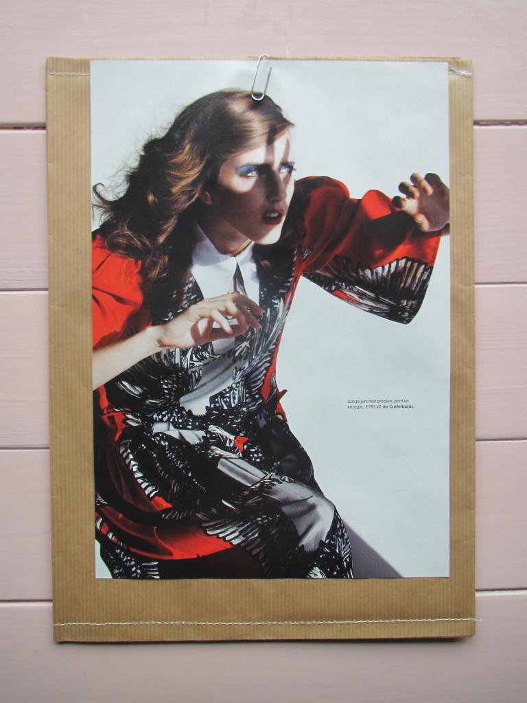 Fashion stationary / Fashion briefpapier // VAN BRITT