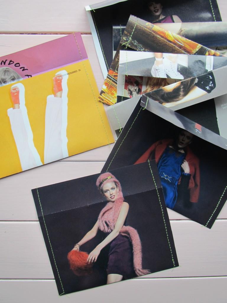 Fashion envelopes / Fashion enveloppen // VAN BRITT