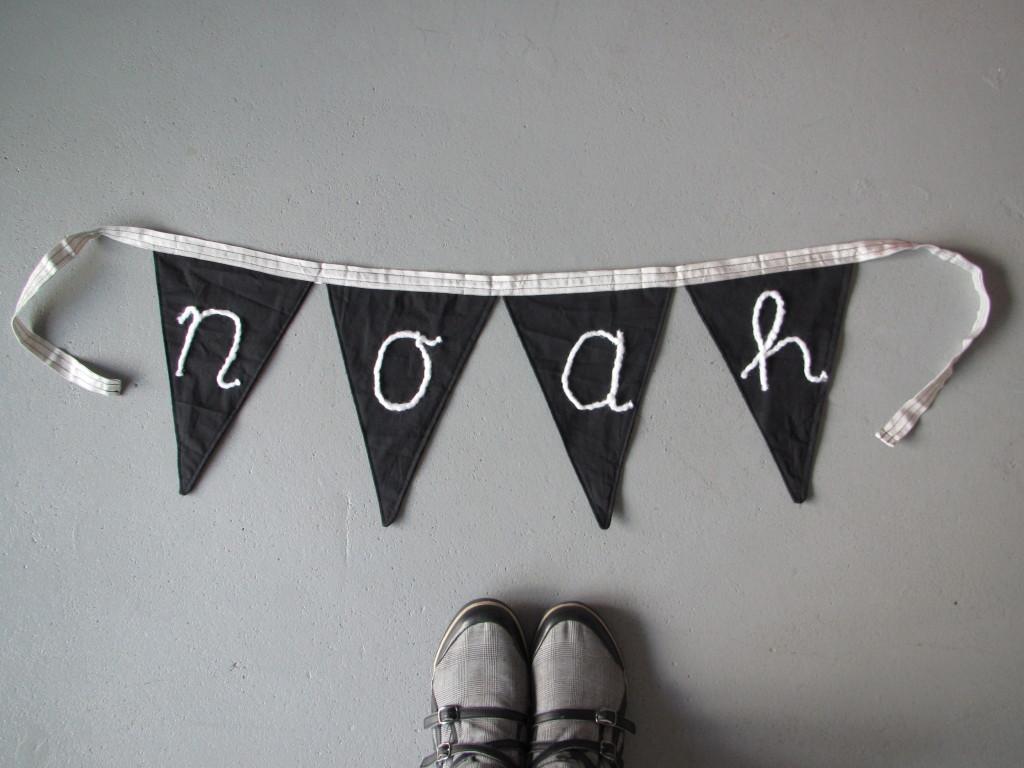 Banner Noah // VAN BRITT