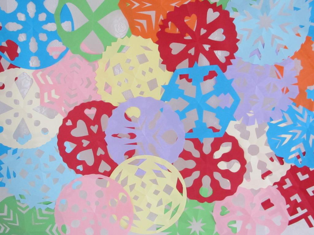 Paper circles / Papieren cirkels // VAN BRITT