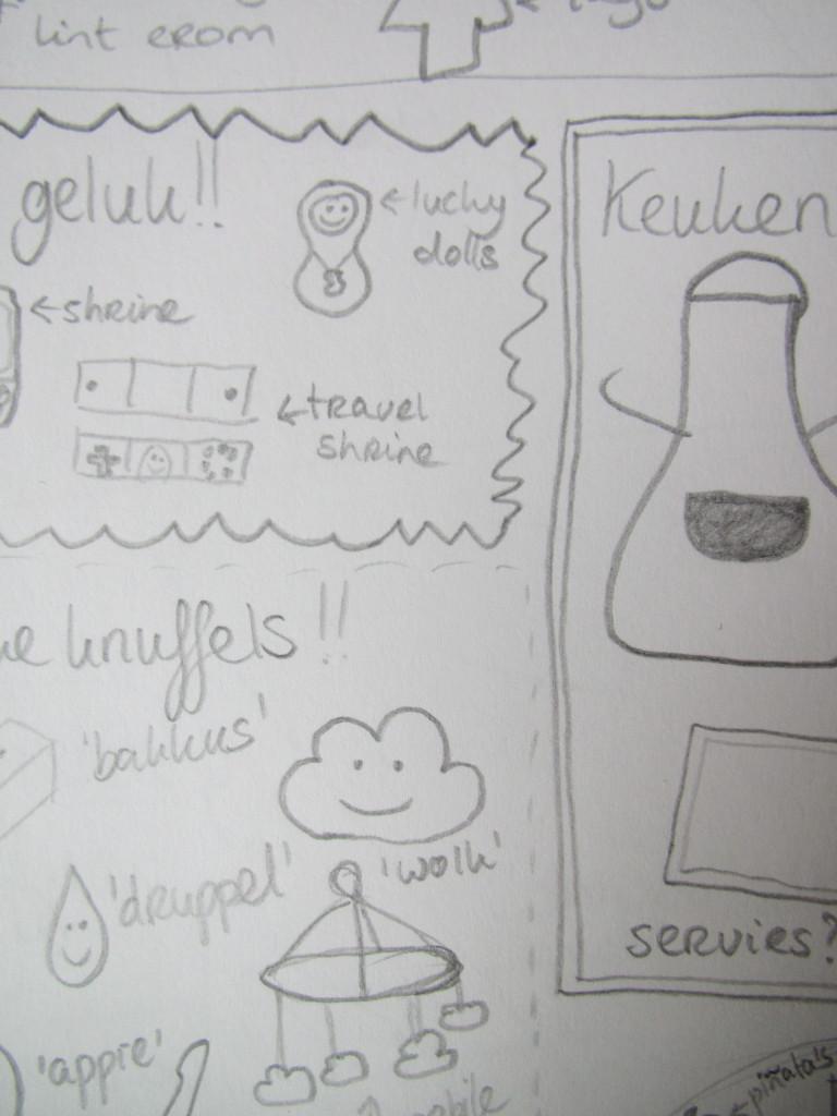 Sketches / Schetsen // VAN BRITT
