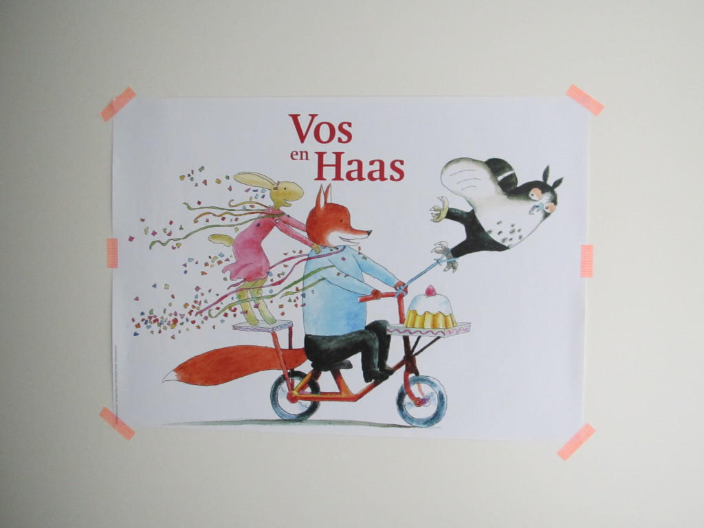 Vos en Haas, poster // foto: VAN BRITT
