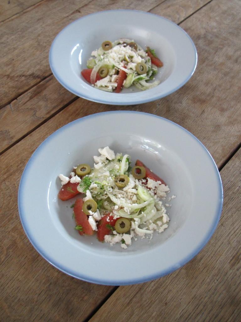 Fennel salad / Venkel salade // VAN BRITT