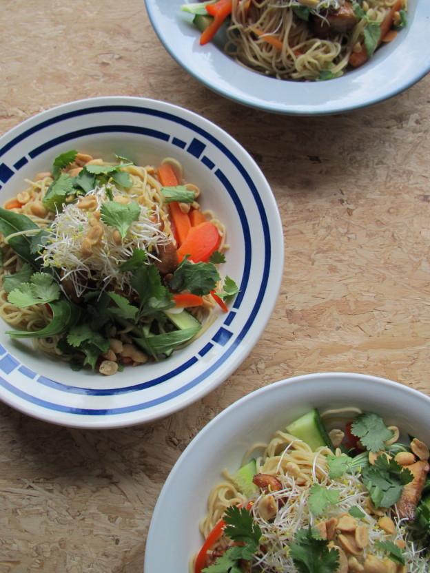 Noodle salad / Noodle salade // VAN BRITT