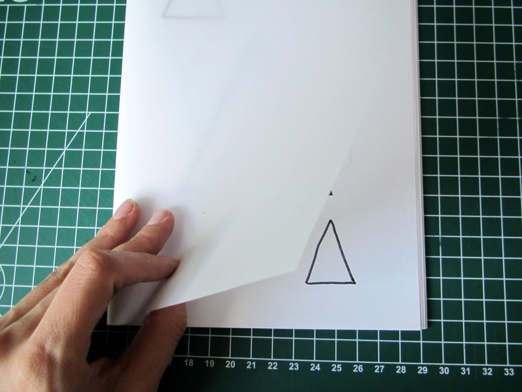 Kleuren en overtrekken, boekje, zelf maken // VAN BRITT