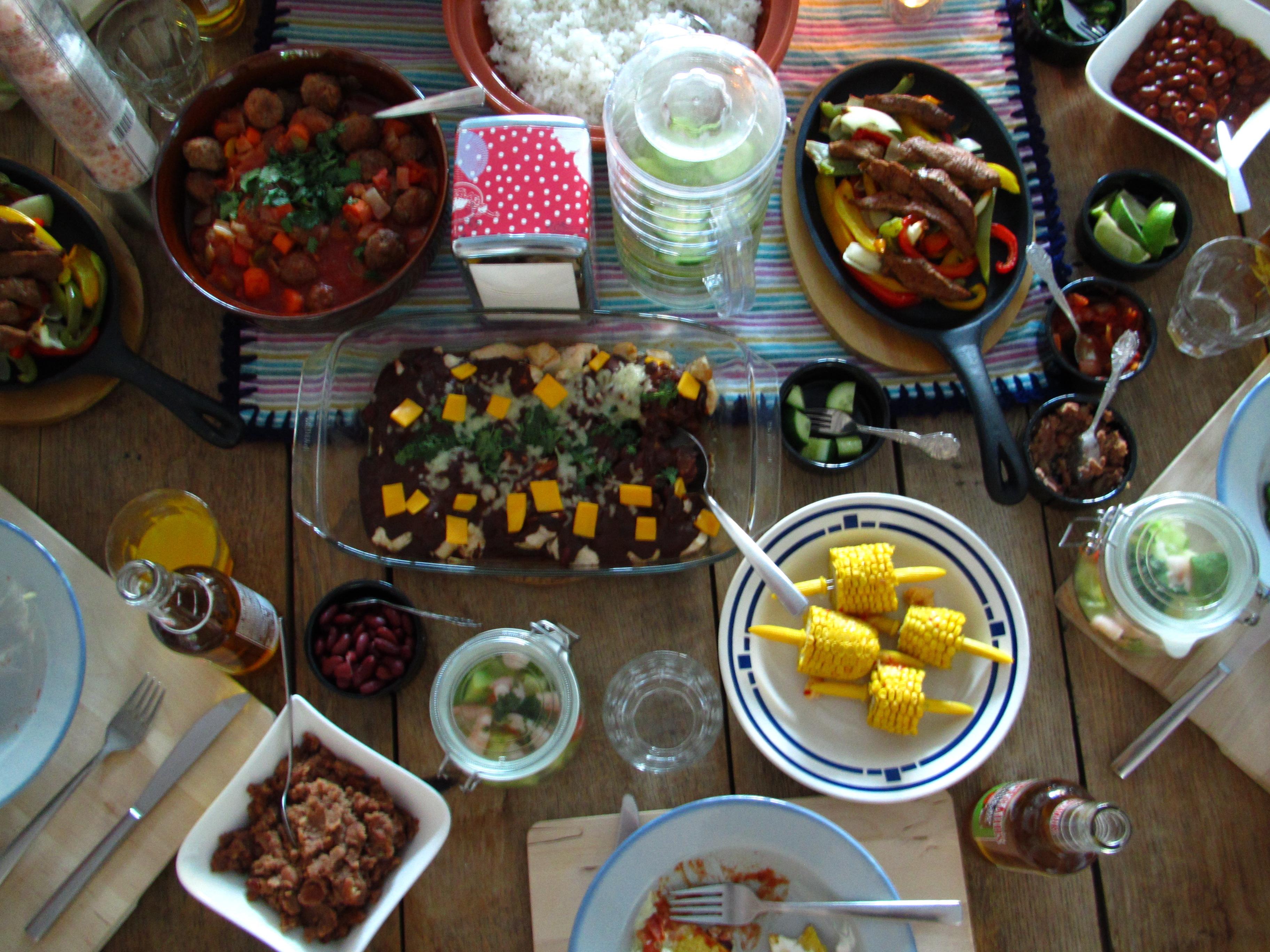 Mexican fiesta / Mexicaanse avond // VAN BRITT