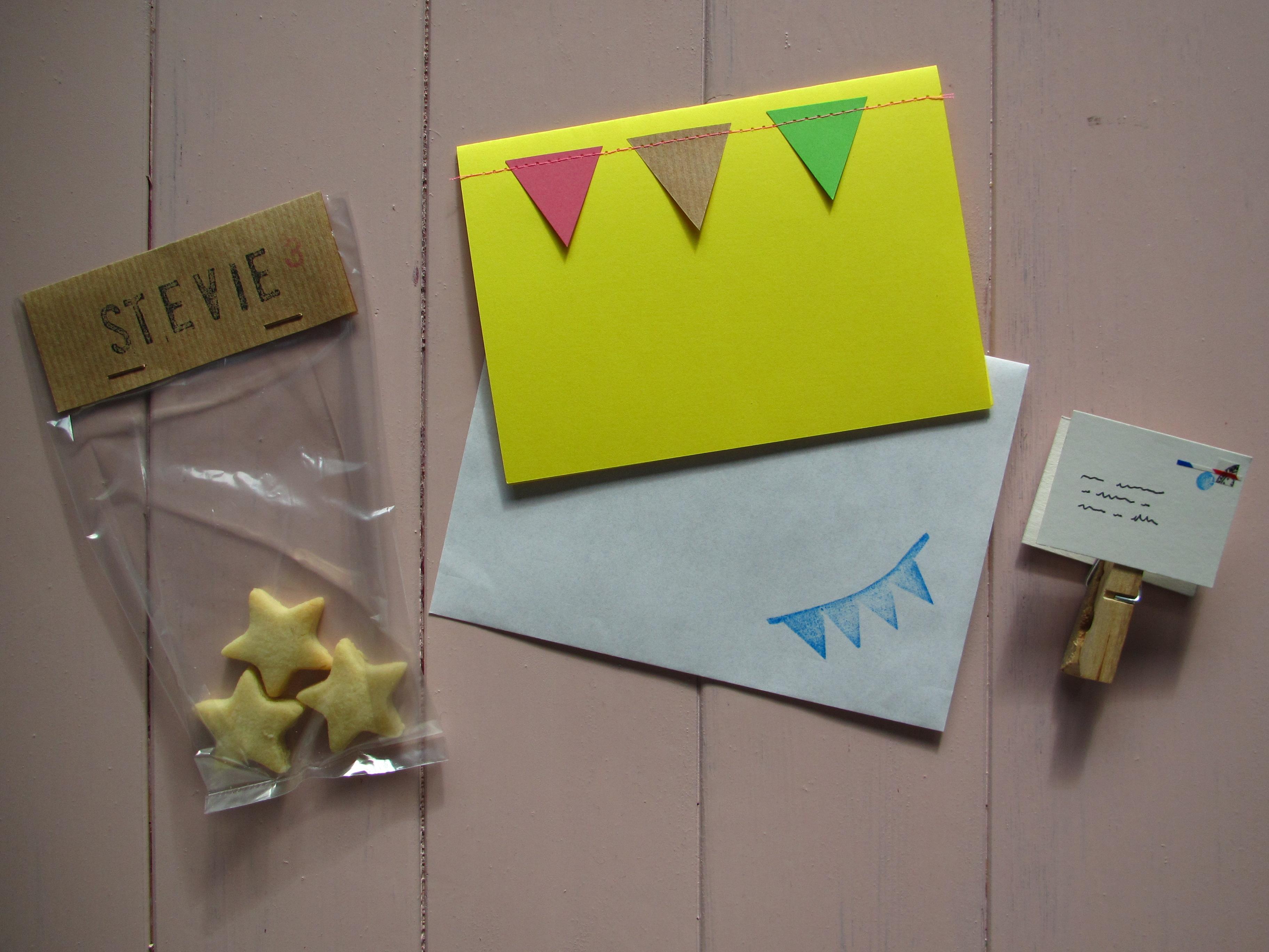 Pre-school treats for birthdays / Traktatie voor de peuterspeelzaal // VAN BRITT