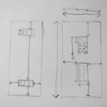 Sketch / Schets, werkbeschrijving // VAN BRITT
