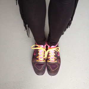 Nike free 5.0 black fuchsia orange // photo: VAN BRITT