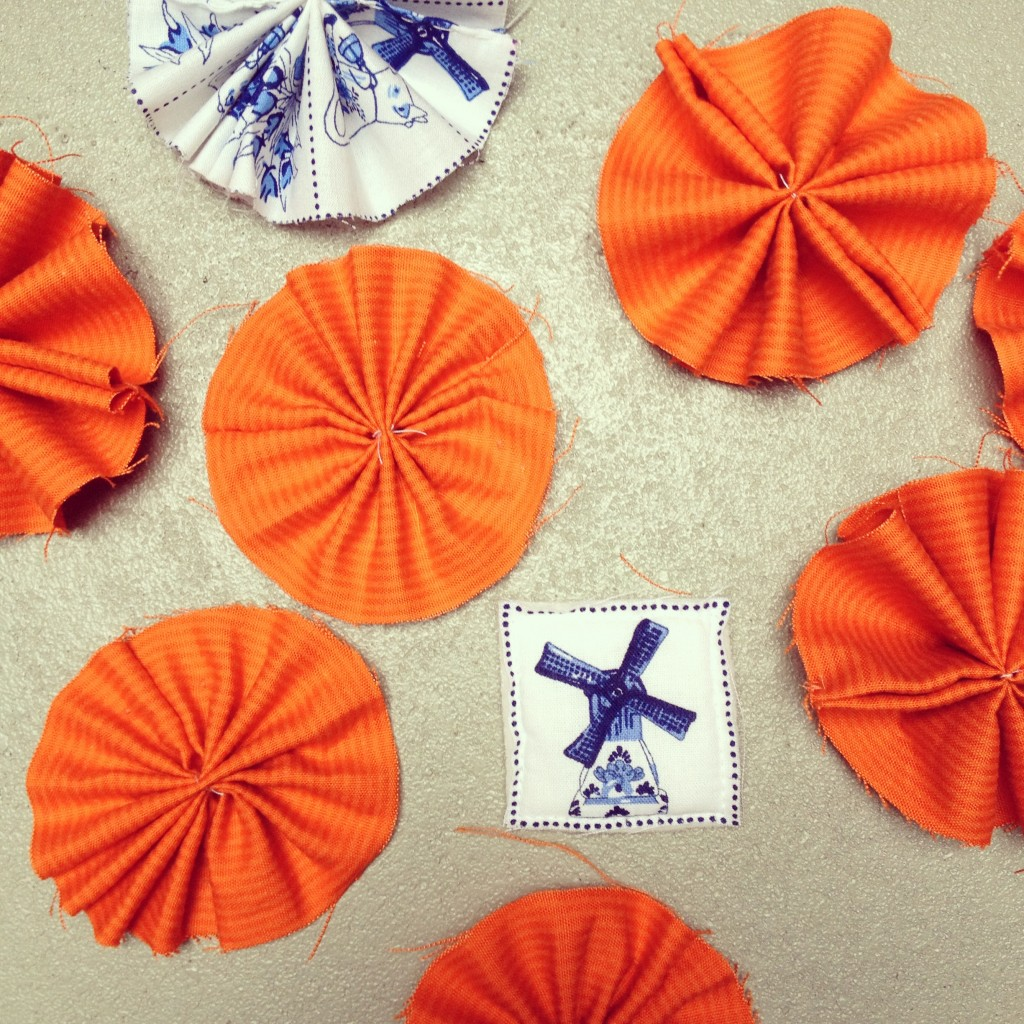 Corsages for Kingsday / Corsages voor Koningsdag // VAN BRITT