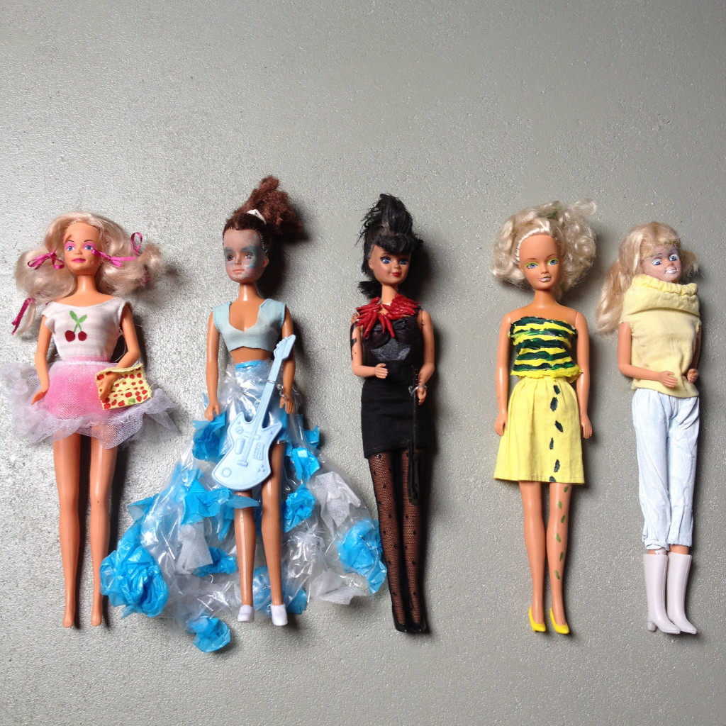 Barbie dolls // VAN BRITT