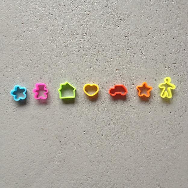 Mini cookie cutters / Kleine vormpjes // photo: VAN BRITT