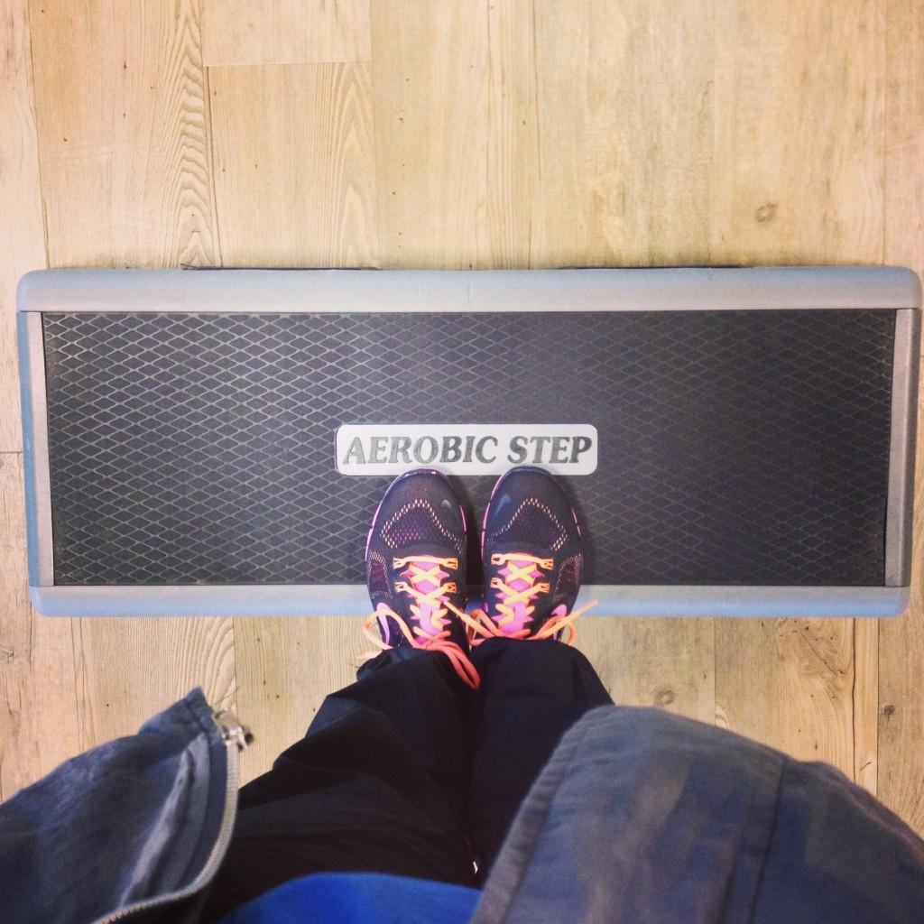 Steps, aerobics // VAN BRITT