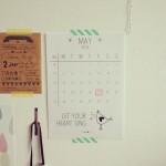 Elske Leenstra kalender mei // foto: VAN BRITT