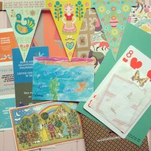 Pretty paper / Leuk papier pakket // VAN BRITT