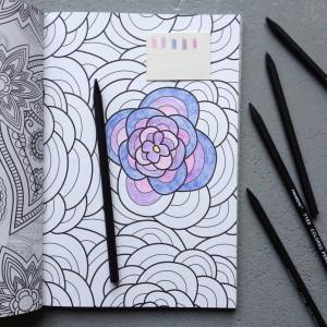 Het Enige Echte Kleurboek Voor Volwassenen // foto: VAN BRITT