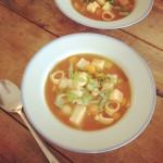 Vegetable soup / Tomaten groente soep // VAN BRITT