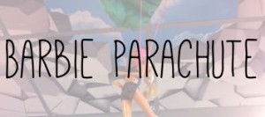 Barbie parachute