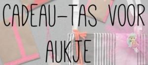 Cadeau-tas voor Aukje