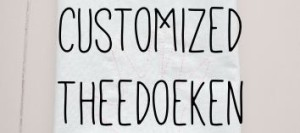 Customized theedoeken
