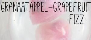 Granaatappel-grapefruit fizz