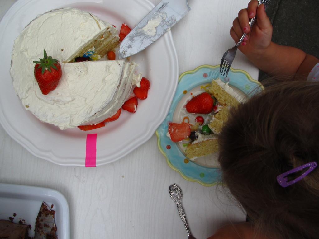Strawberry cake / Aardbeientaart // VAN BRITT