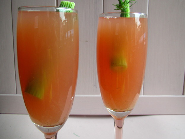 Semi-hearty mocktail with fennel / Semi-hartige mocktail met venkel // VAN BRITT