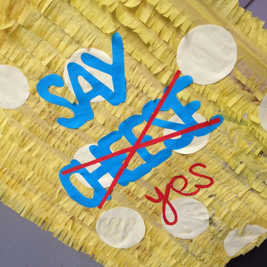 Cheese piñata / Kaas piñata // VAN BRITT